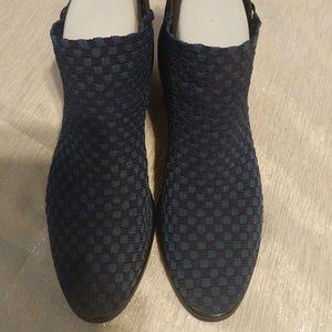 STEVEN by Steve Madden Paden Booties Blue Size 8
